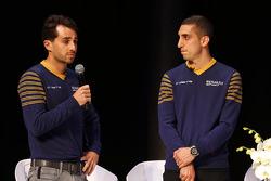 Nicolas Prost and Sebastien Buemi, e.dams-Renault