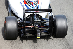 Williams FW36 rear wing and rear diffuser