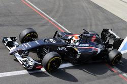 F1: Adrian Sutil, Sauber C33