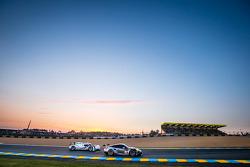 #88 Proton Competition Porsche 911 RSR (991): Christian Ried, Klaus Bachler, Khaled Al Qubaisi, #20 Porsche Team Porsche 919 Hybrid: Timo Bernhard, Mark Webber, Brendon Hartley