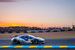 LEMANS: #53 RAM Racing Ferrari 458 Italia: Johnny Mowlem, Mark Patterson, Archie Hamilton