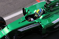 F1: Julian Leal, Caterham CT05 Test Driver