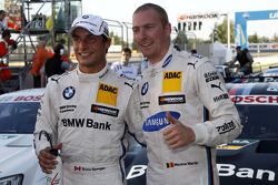 DTM: 1st row for Bruno Spengler, BMW Team Schnitzer BMW M4 DTM and Maxime Martin, BMW Team RMG BMW M4 DTM