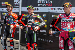 WSBK: Tom Sykes takes superpole with Marco Melandri taking 2nd and Chaz Davies taking 3rd