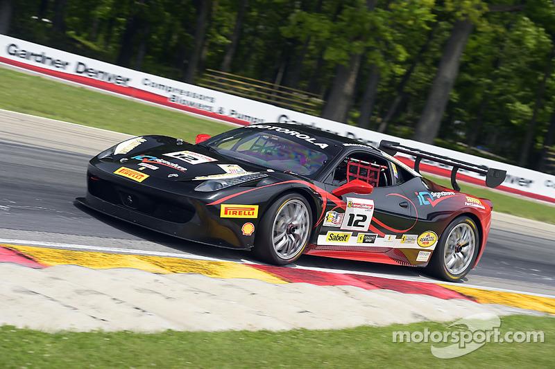 #12 Ferrari of Ontario Ferrari 458: Dan O'Neal