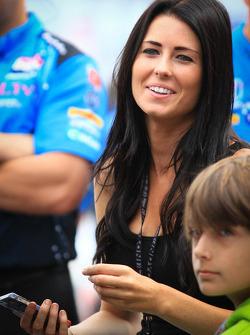 Kirsten Dee, Girlfriend of James Hinchcliffe, Andretti Autosport Honda