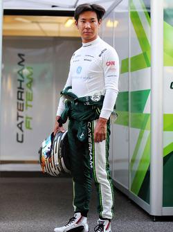 F1: Kamui Kobayashi, Caterham