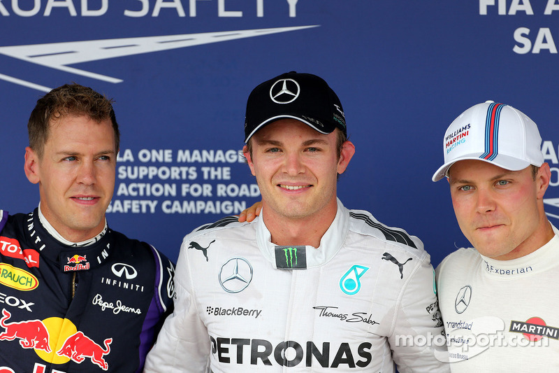 Photo of Valtteri Bottas & his friend driver  Nico Rosberg - F1