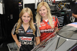 Brittany Force and Courtney Force
