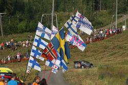 Jarkko Nikara and Jarkko Kalliolepo, M-Sport Ford Fiesta WRC