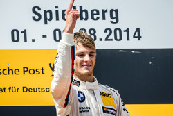 Podium: race winner Marco Wittmann, BMW Team RMG BMW M4 DTM