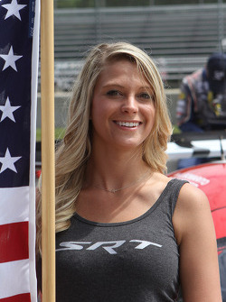 SRT flag girl