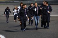 Valtteri Bottas, Williams walks the circuit