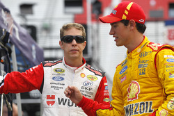 Brad Keselowski and Joey Logano