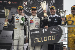 Race winners Dominik Baumann and Thomas Jäger