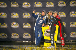 Dale Earnhardt Jr., Kasey Kahne and Jeff Gordon