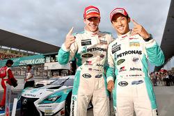 Winners Kazuki Nakajima, James Rossiter