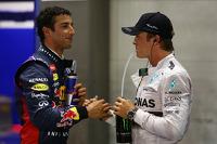 Daniel Ricciardo, Nico Rosberg