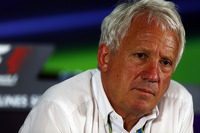 Charlie Whiting, FIA Delegate in a FIA Press Conference