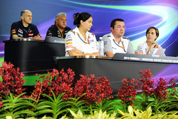 The FIA Press Conference, Scuderia Toro Rosso Team Principal; Dr. Vijay Malya