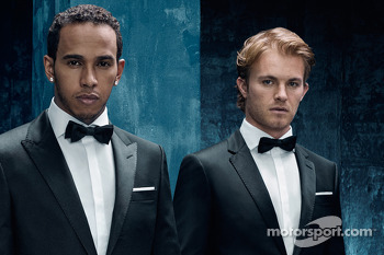 Mercedes GP - Hugo Boss announcement