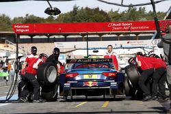 Pitstop, Mattias Ekström (SWE), Audi Sport Team Abt Sportsline, Audi A5 DTM