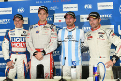 Franz Engstler, BMW 320 TC, Liqui Moly Team Engstler, Tom Chilton, Chevrolet RML Cruze TC1, ROAL Motorsport, Jose Maria Lopez, Citroen C-Elysee WTCC, Citroen Total WTCC, Sebastien Loeb, Citroen C-Elysee WTCC, Citroen Total WTCC