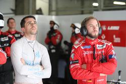 Nicolas Prost and Nick Heidfeld