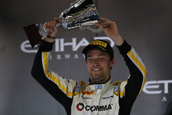 Second place Jolyon Palmer, DAMS