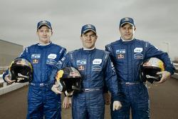 Igor Leonov, Andrey Karginov and Andrey Mokeev