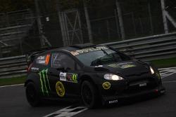 Kurt Busch and Rihanon Gelsomino, Ford Fiesta WRC
