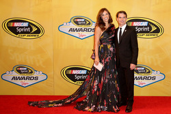 Jeff Gordon and his wife Ingrid Vandebosch