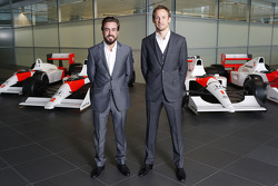 Fernando Alonso and Jenson Button, McLaren Honda