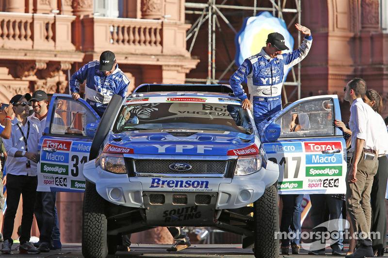 #317 Ford: Federico Villagra, Andres Memi