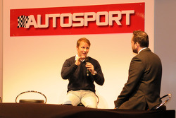 Petter Solberg on the Autosport Stage