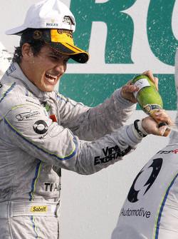 GTD class winner Dominik Farnbacher