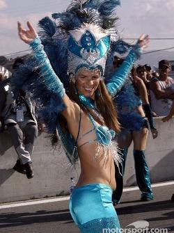 Samba time!