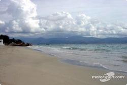 A beach near Ajaccio