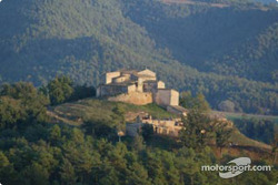 A typical Catalan village nested in mountains