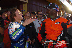 Sete Gibernau and Michael Jordan