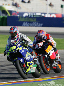 Colin Edwards and Nicky Hayden
