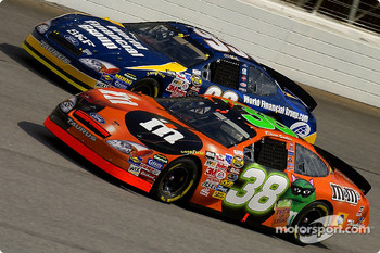 Elliott Sadler and Carl Edwards
