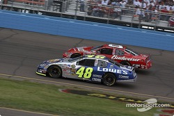 Dale Earnhardt Jr. and Jimmie Johnson