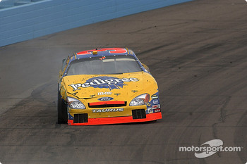Elliott Sadler in the wall