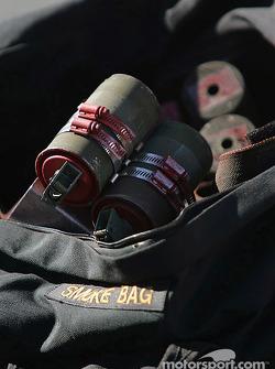 Golden Knights smoke bag