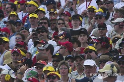 Fans at Homestead