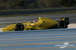 Jonathan Cochet tests the new Formula Renault 3.5 single seater