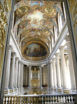 Visit of the Château de Versailles: the Chapel