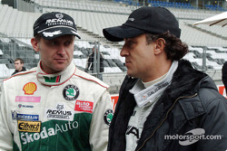 Armin Schwarz and Jean Alesi