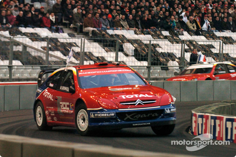 Quarter-final: Marcus Gronholm and Stephane Sarrazin